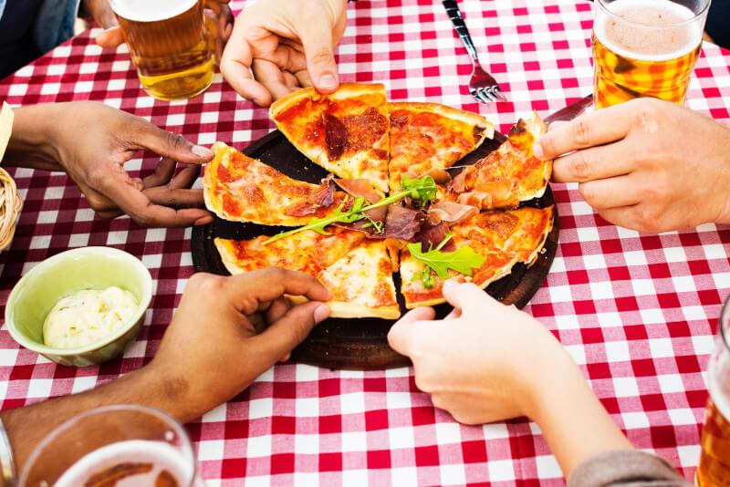 Geh nie alleine essen - Foodbild