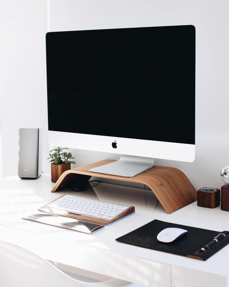 Magic Cleaning Schreibtisch
