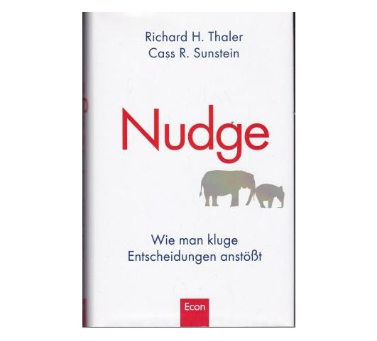 Nudge - Kluge Entscheidungen - Buchcover