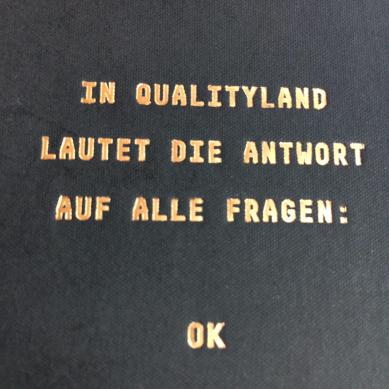 Qualityland Zitat