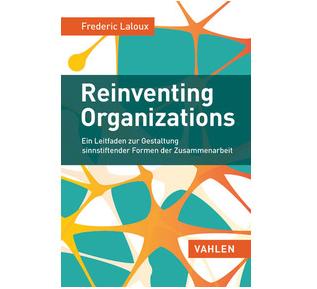 Reinventing Organizations - Buchcover