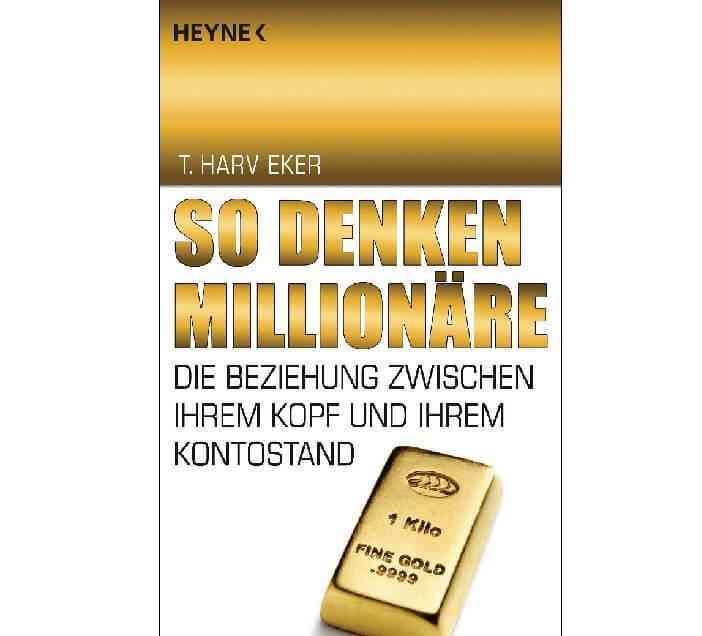 Buchcover So denken Millionäre