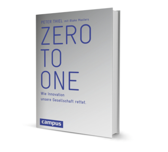 Zero to one Buchcover