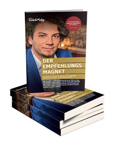 Buchcover Der Empfehlungsmagnet