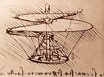 Helikopter Leonardo da Vinci
