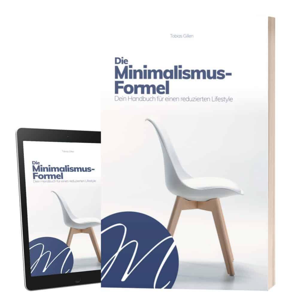 Buchcover Die Minimalismus-Formel