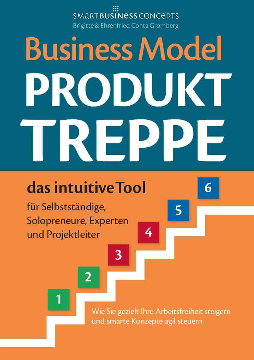 Buchcover - Business Model Produkt Treppe